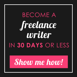 30 Days or Less to Freelance Writing Success - 1