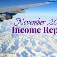 October & November 2015 Income Statement