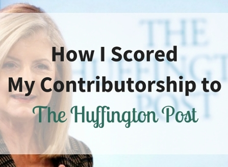 How I Scored My Contriburotship to The Huffington Post