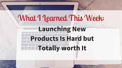 What I Learned This Week-